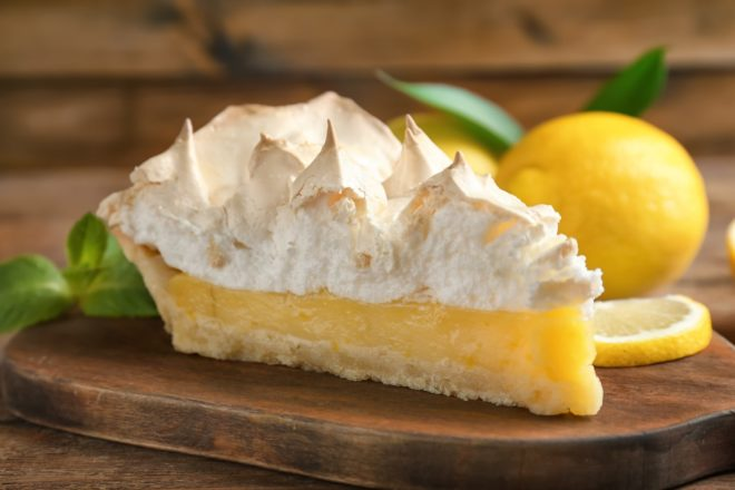 french lemon meringue pie recipe bilingual