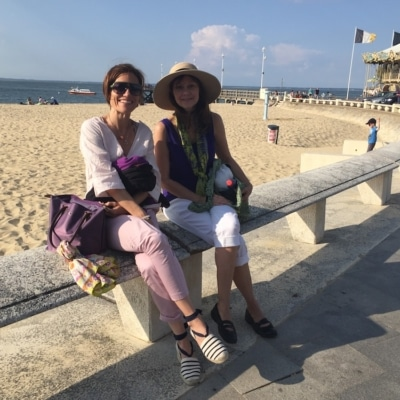 Isabelle - Arcachon City - Immersion at French Teacher's By