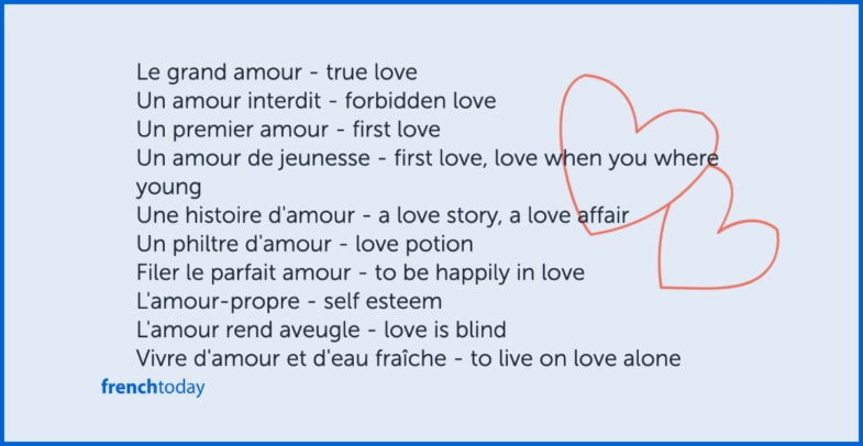 french love expressions