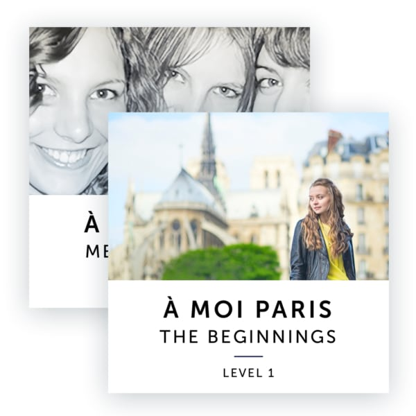 Audiobook Image: A Moi Paris Beginner Level Bundle