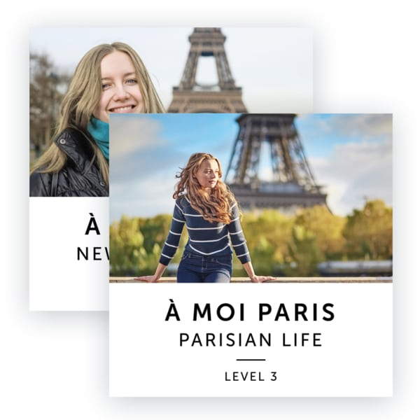 Audiobook Image: A Moi Paris Intermediate Level Bundle