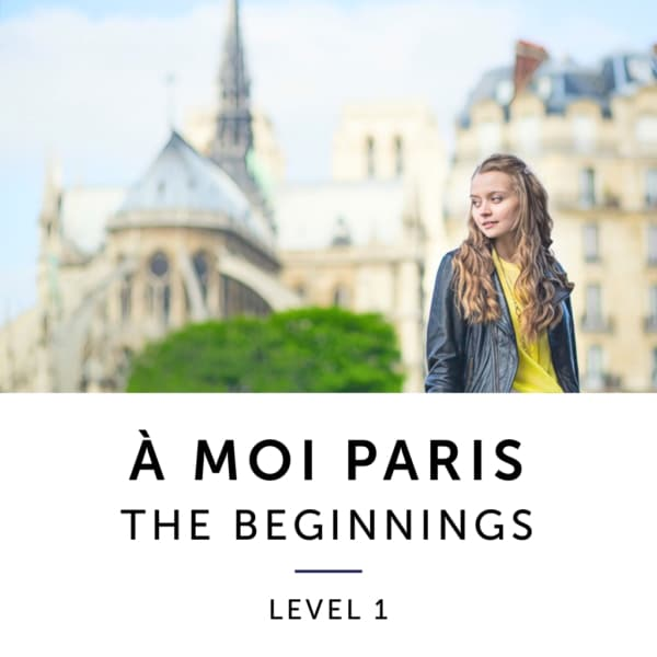 Product image: A Moi Paris Level 1 French Audiobook Method