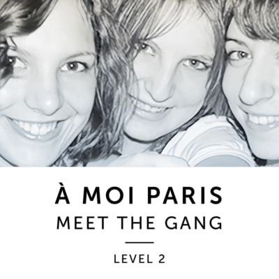 Product image: A Moi Paris Level 2 French Audiobook Method