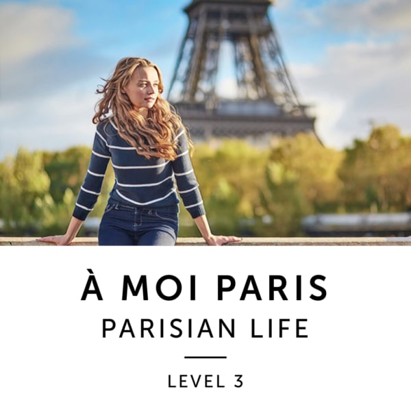 Product image: A Moi Paris Level 3 French Audiobook Method