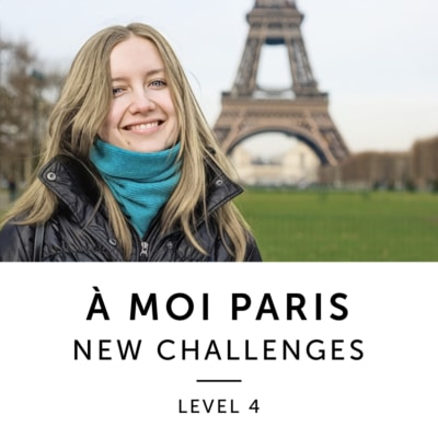 Product image: A Moi Paris Level 4 French Audiobook Method