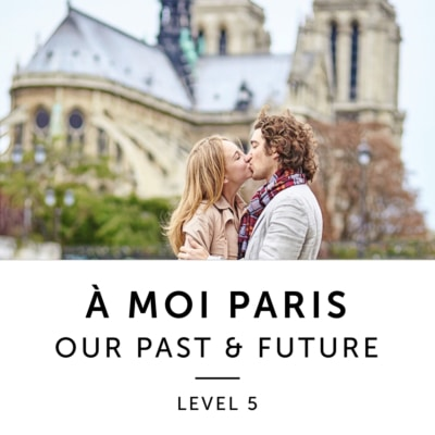Product image: A Moi Paris Level 5 French Audiobook Method