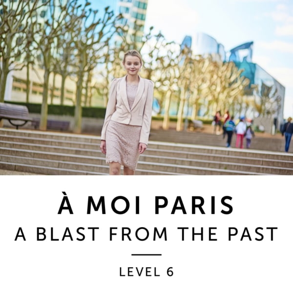 Product image: A Moi Paris Level 6 French Audiobook Method