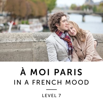 Product image: A Moi Paris Level 7 French Audiobook Method