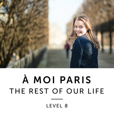 Product image: A Moi Paris Level 8 French Audiobook Method
