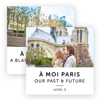 Product image: A Moi Paris Upper Intermediate Level Bundle