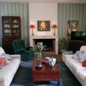 French immersion france loire livingroom
