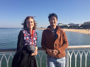 Sean - french immersion student at teacher's in france arcachon