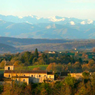 Background image: French Homestay In the Pyrénées