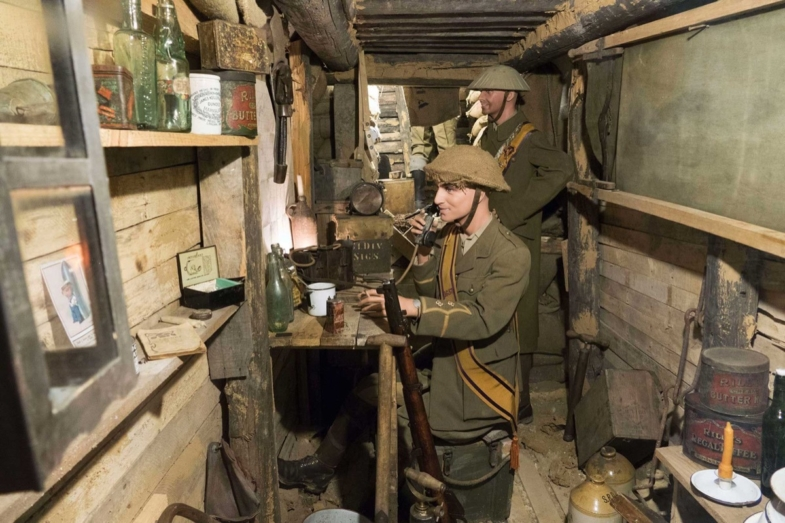 french language immersion ww1 somme