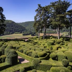 Jardins de Marqueyssac - river - learn french immersion homestay dordogne