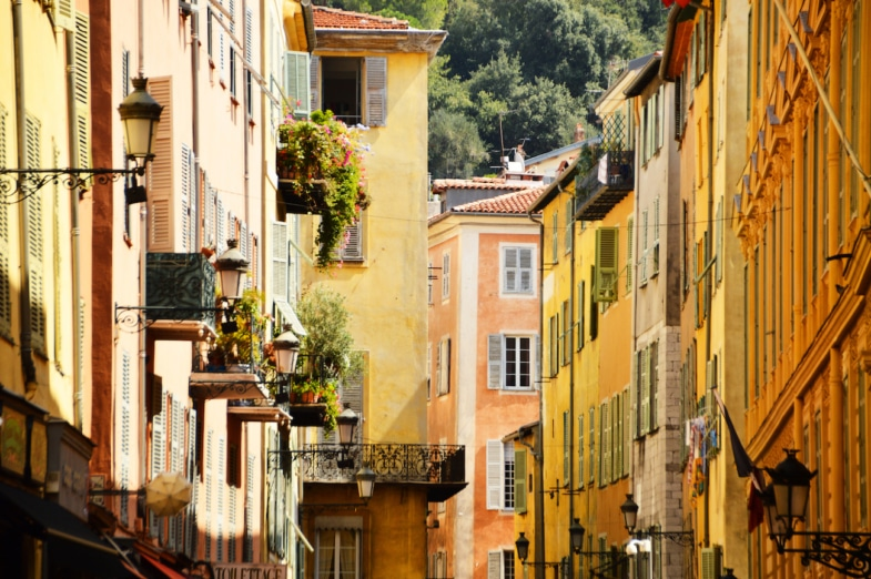 learn french in immersion in nice