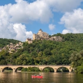 river - learn french immersion homestay dordogne