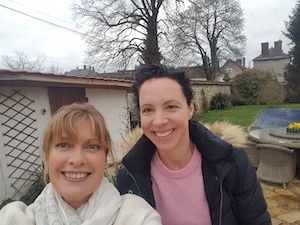 sarah - student residential french immersion with teacher near paris france