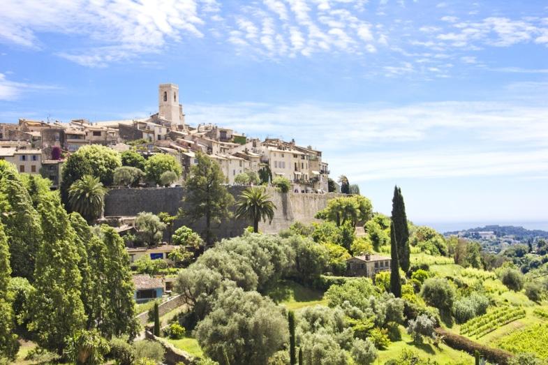 Saint Paul de Vence learn french in immersion homestay teacher nice