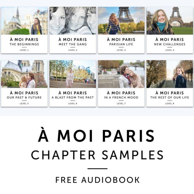 Product image: À Moi Paris Chapter Samples