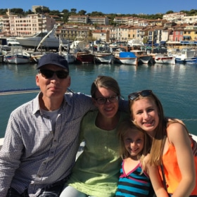 family of students - french residential immersion in france