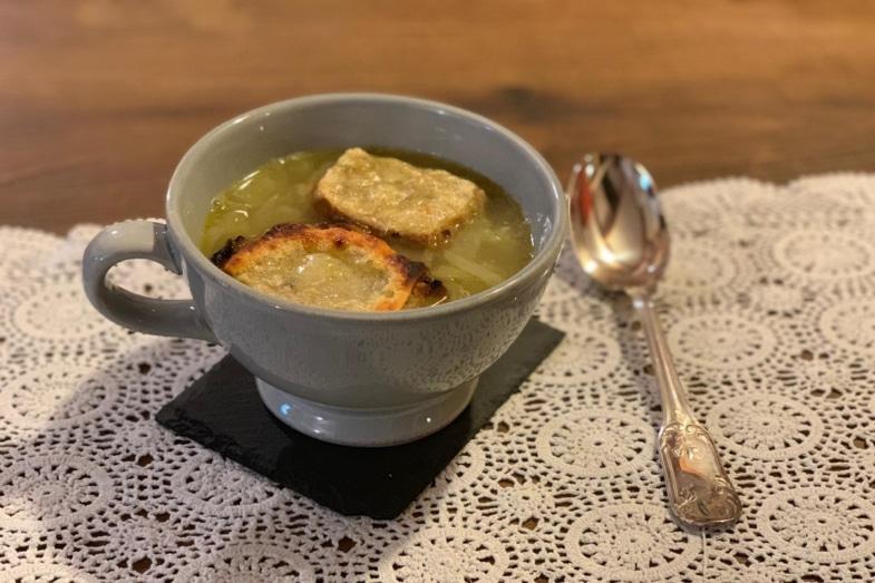 french onion soup recipe recette soupe à l'oignon bilingue