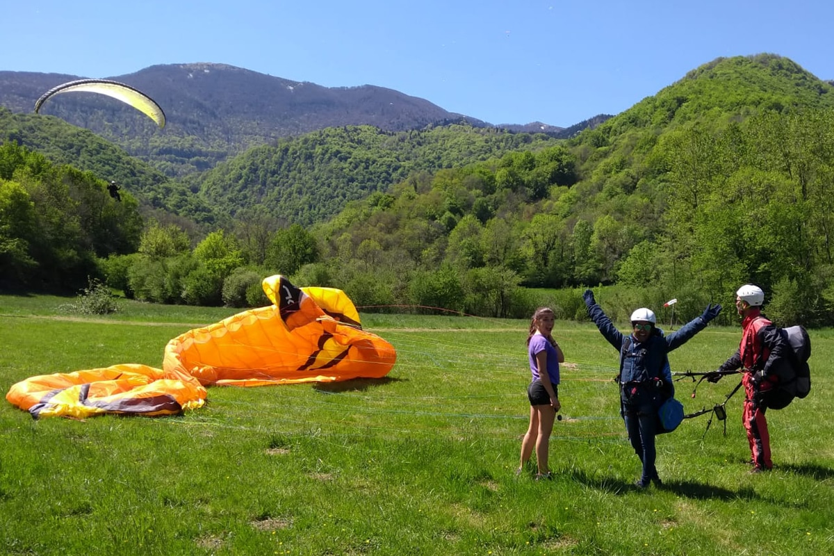 french vocabulary paragliding