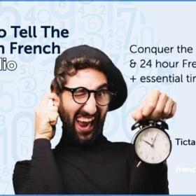 ⏱ Le Train Est À Deux Heures Ou Douze Heures ? The Time In French w/ Audio