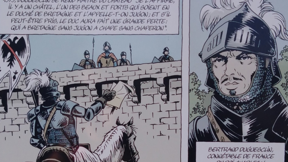 french comic book Bertrand du Guesclin