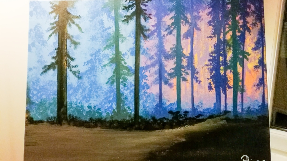 french immersion painting