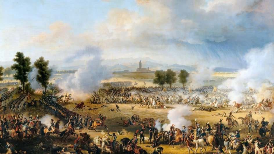 Lejeune Bataille de Marengo