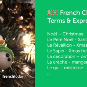 100 French Christmas Terms With Audio