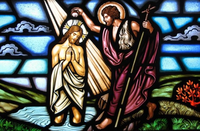 french church stained glass Jesus