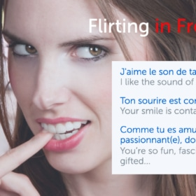 💕 Flirting in French