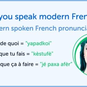 Do You Understand Modern Spoken French?