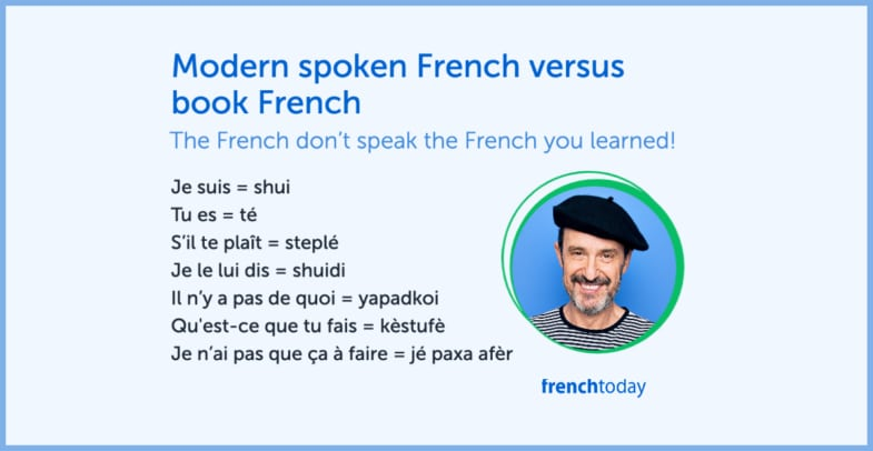 do you speak modern french