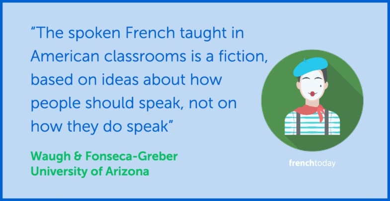 how to learn french quote