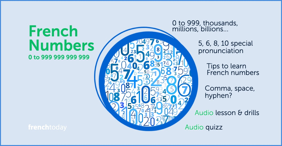 Learn French Numbers With Audio And Exercises