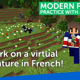 Watch Me Play Minecraft in French – Minecraft en Français!