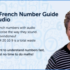 French Numbers – Free French lesson w/ audio & fun quiz