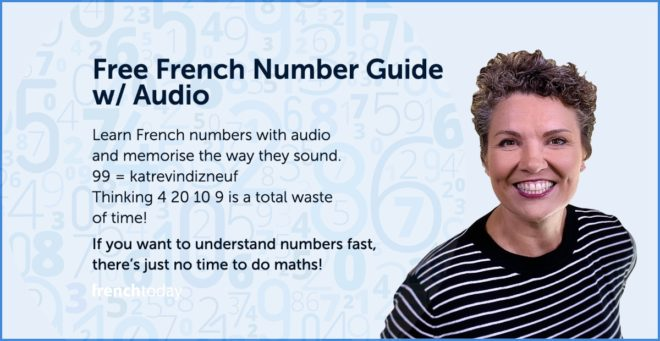 if you want to understand French numbers fast, there's just no time to do maths