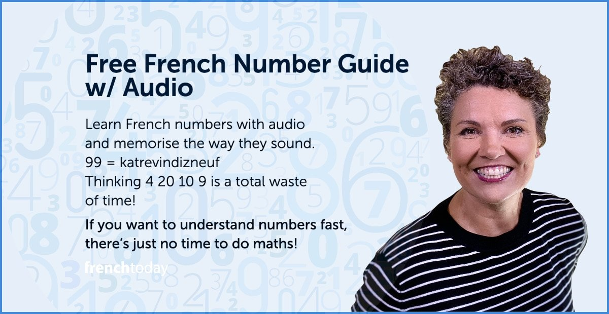French Numbers - Free French lesson w/ audio & fun quiz
