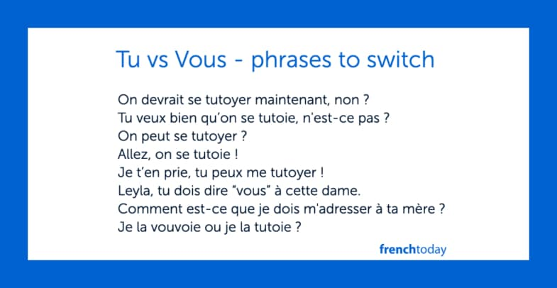 Complete Guide To You In French