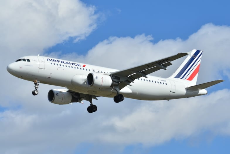 French plane AirFrance