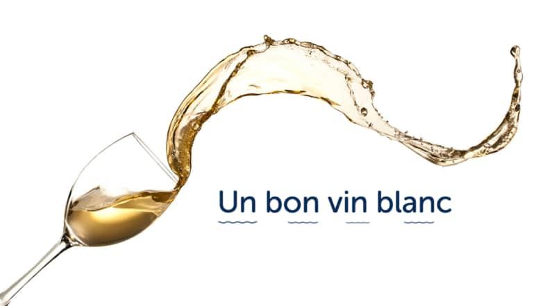 white wine un bon vin blanc