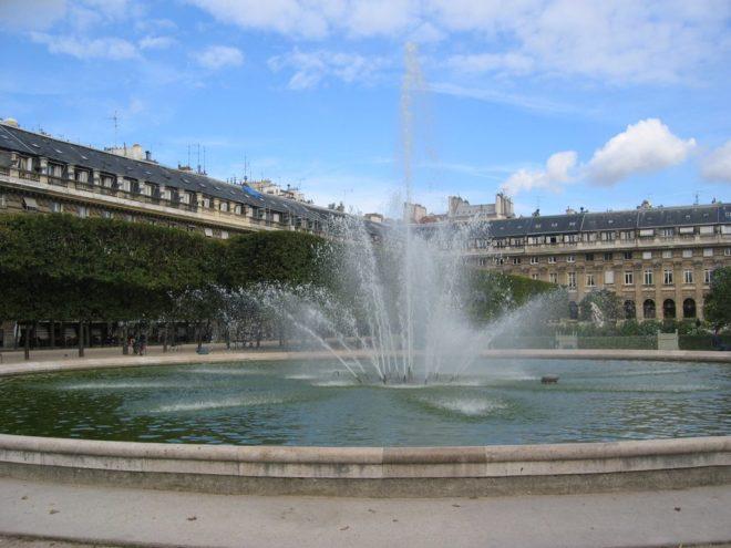 palais royal fountain